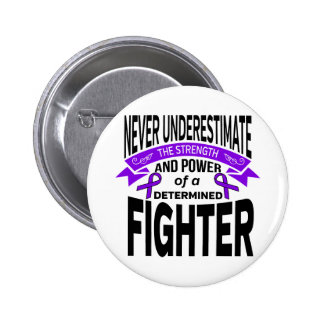 ITP Determined Fighter 6 Cm Round Badge
