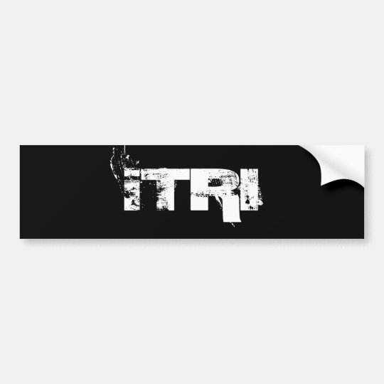 iTRI Bumper Sticker