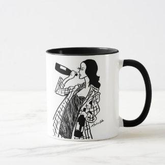 It's 5 o'clock somewhere! Wine Fashion Mug
