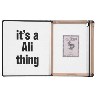 its a ali thing iPad covers
