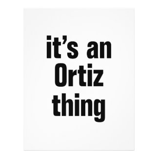 its a an ortiz thing 21.5 cm x 28 cm flyer