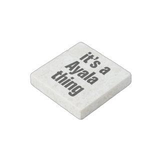 its a ayala thing stone magnet
