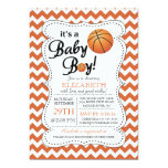 It's a Baby Boy Basketball Baby Shower 13 Cm X 18 Cm Invitation Card