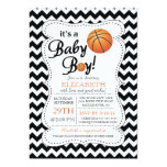 It's a Baby Boy Basketball Baby Shower 13 Cm X 18 Cm Invitation Card
