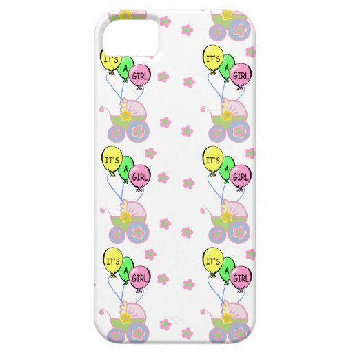 Its A Baby Girl iPhone 5/5S Cover