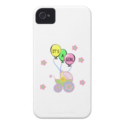 Its A Baby Girl Case-Mate iPhone 4 Case