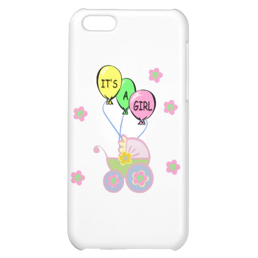 Its A Baby Girl iPhone 5C Cases