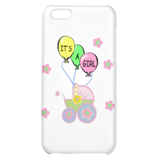 Its A Baby Girl iPhone 5C Covers