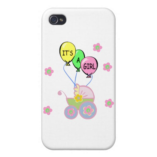 Its A Baby Girl iPhone 4/4S Covers