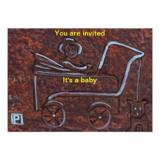 Its a baby (Invite)