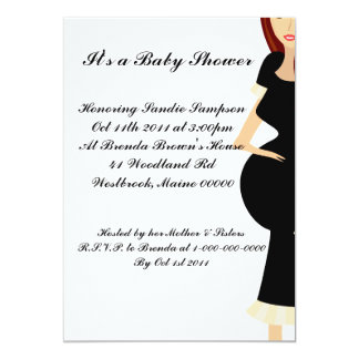 It's a Baby Shower 13 Cm X 18 Cm Invitation Card
