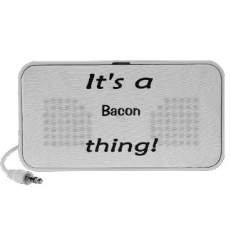 It's a bacon thing! notebook speaker