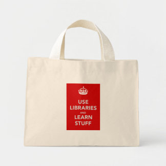 It's a bag! mini tote bag