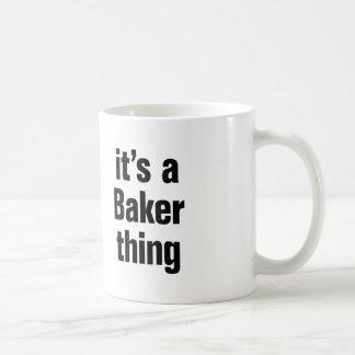 its a baker thing basic white mug