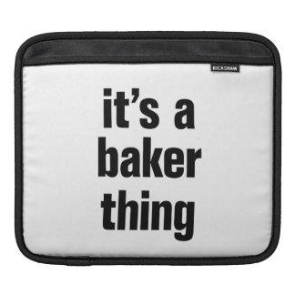 its a baker thing iPad sleeve