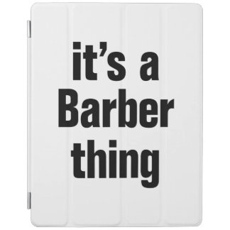 its a barber tihing iPad cover