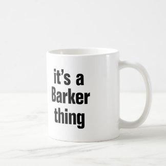 its a barker thing basic white mug
