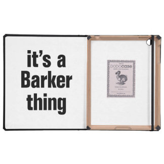 its a barker thing covers for iPad