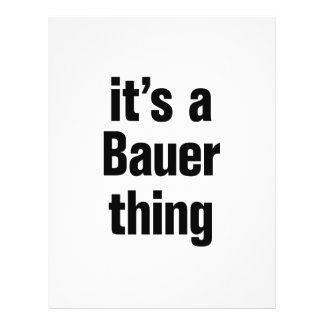 """its a bauer thing 8.5"""" x 11"""" flyer"""