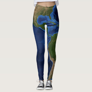 It's a beautiful world - western hemisphere leggings