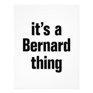 its a bernard thing 21.5 cm x 28 cm flyer