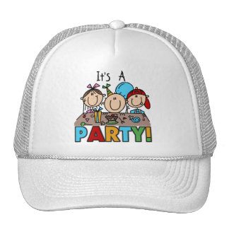 It's a Birthday Party T-shirts and Gifts Trucker Hat