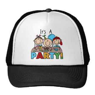 It's a Birthday Party T-shirts and Gifts Hat
