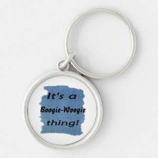 It's a boogie-woogie thing! keychains