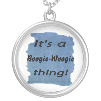 It's a boogie-woogie thing! pendant