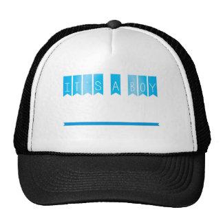 Its a boy announcement cap
