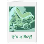 It's a Boy Announcement Card