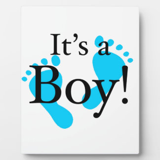 Its a Boy - Baby, Newborn, Celebration Plaque