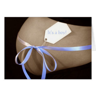 """It's a boy!"" Baby Shower Invitation"