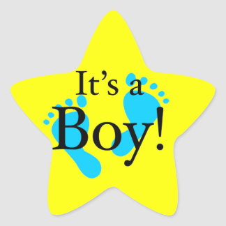 It's a Boy! - Baby-shower Newborn Stickers