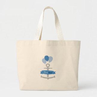 It's A Boy! Canvas Bag