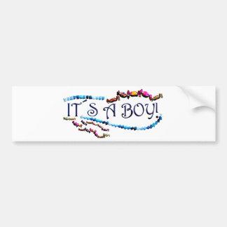 Its a Boy Bumper Sticker