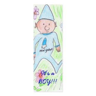 , It's a BOY!!! Business Card Templates