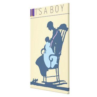 <It's a Boy> by Steve Collier Canvas Print