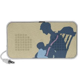 <It's a Boy> by Steve Collier Laptop Speaker