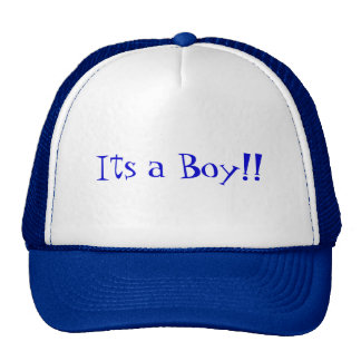 Its a Boy!! Trucker Hat