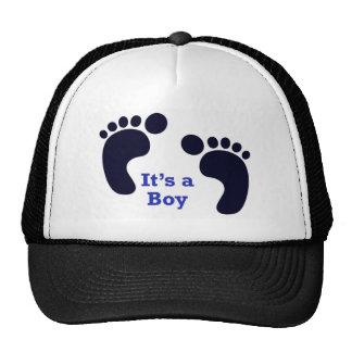 its a boy trucker hat