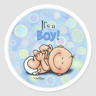 It's a Boy - Congratulations stickers