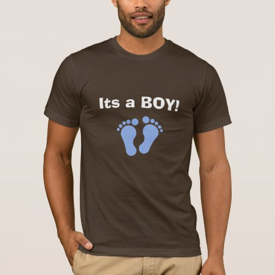Its a BOY! Cool dad to be shirt.