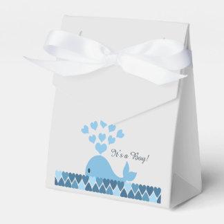 It's A Boy! Cute Whale Favour Box