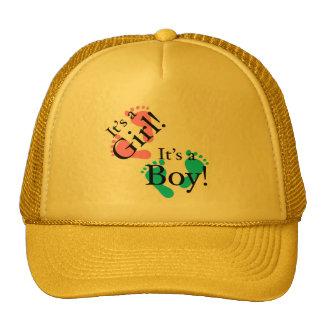 It's a Boy It's a Girl - Newborn Cap