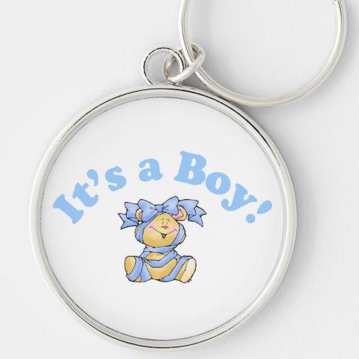 Its A Boy Key Chain