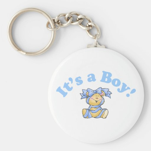 Its A Boy Key Chains