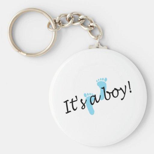 Its A Boy Keychains