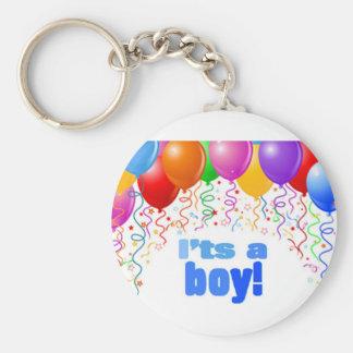 It's a boy! keychain
