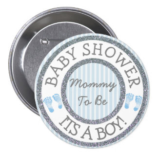 Its a Boy, Mummy to be Baby Shower Button